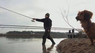Úspěšný prosincový lov kaprů (winter carp fishing)