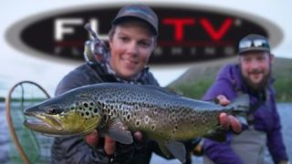 FLY TV - Brown Trout Fly Fishing with Big Streamers