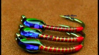 Tying a Simple & Effective Spring Colours Quill Buzzer by Mak