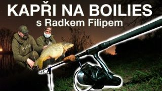 S Jakubem na rybách - Kapři na boilies s Radkem Filipem