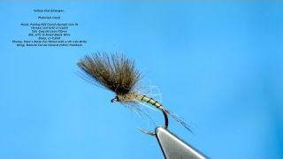Tying a Yellow Owl Emerger/Dry Fly with Davie McPhail
