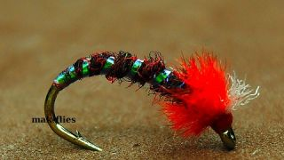 Tying a Simple & Effective Midge Pattern by mak