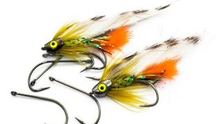 Fly Tying instruction on how to tie the: Iceland Stickleback